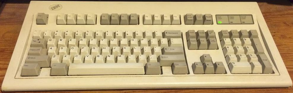 IBM Model M Keyboard Info